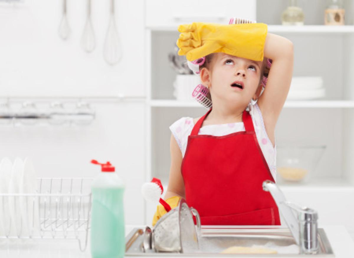 Kid's Chores What a Chore