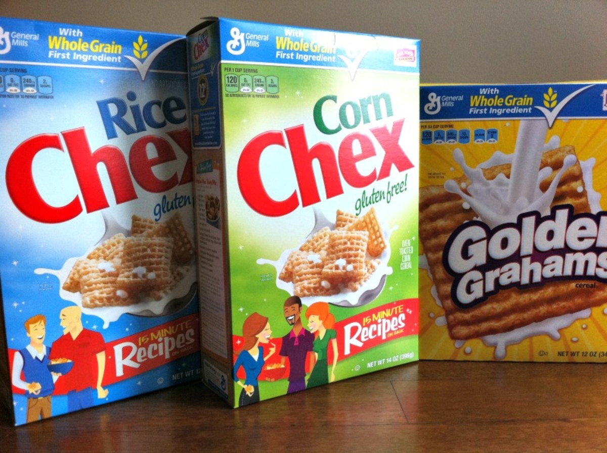 Chewy Chex mix Ingredients