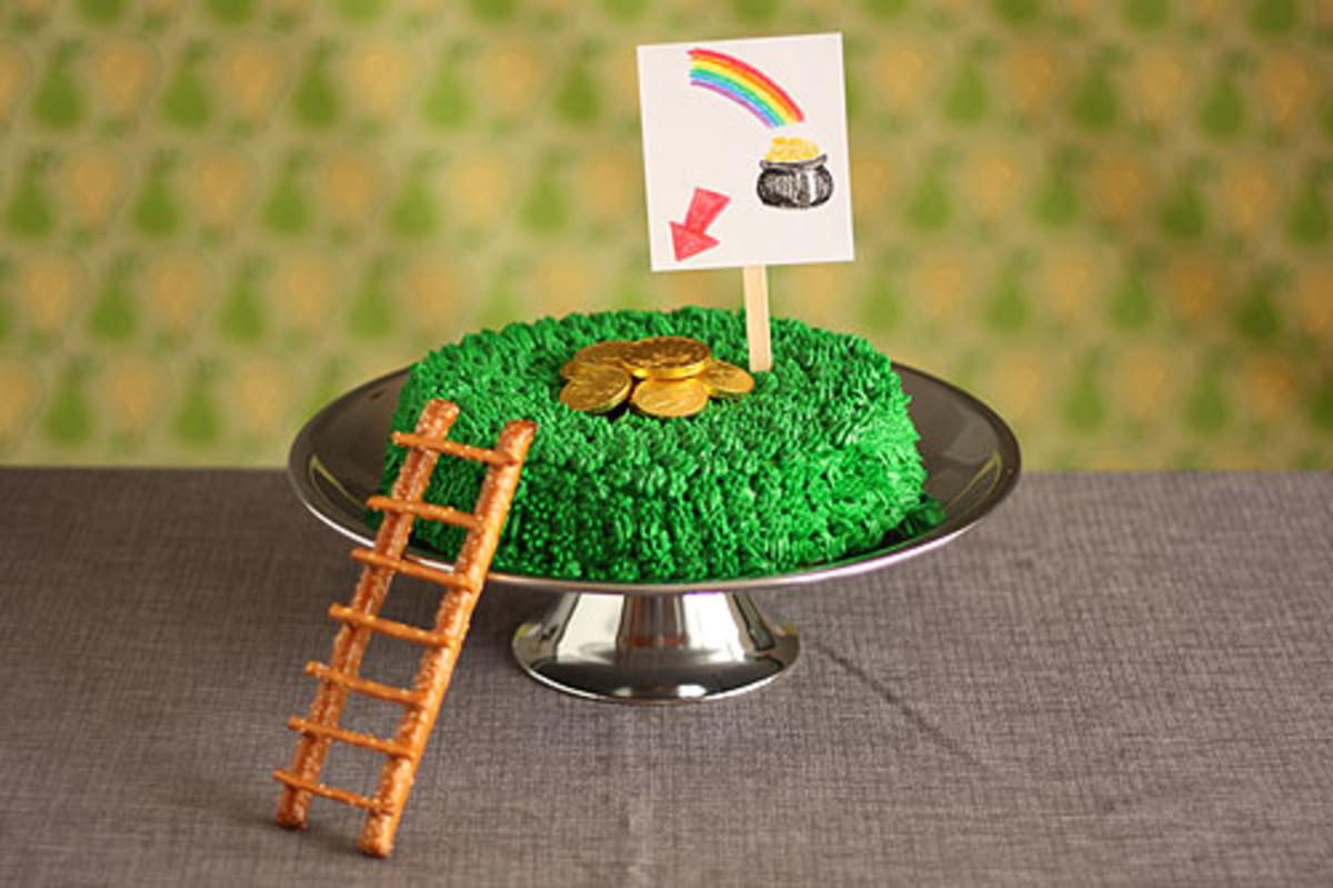 Not Martha Leprechaun Trap Cake