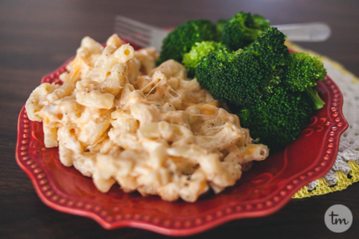 Slow-Cooker Mac'n'Cheese