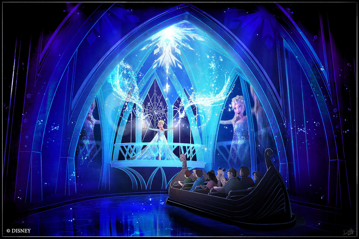 'Frozen Ever After' Attraction Rendering (Courtesy Disney World)