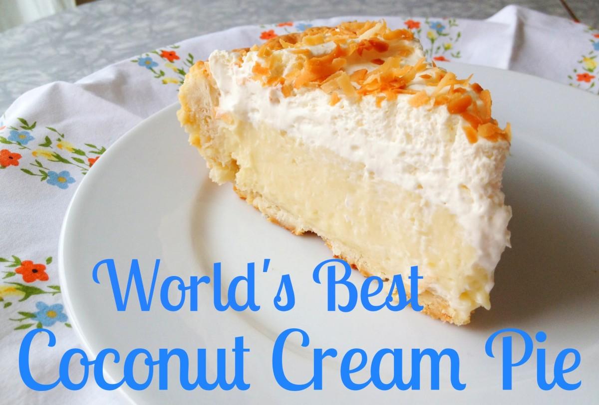 Best coconut cream pie recipe coconut extract optional