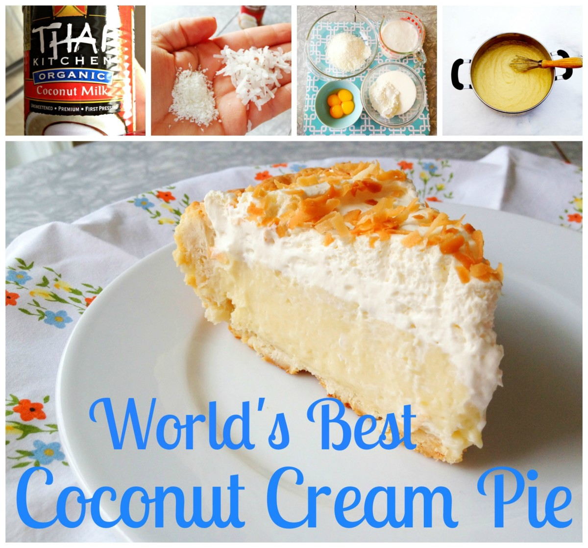 World's Best Coconut Cream Pie