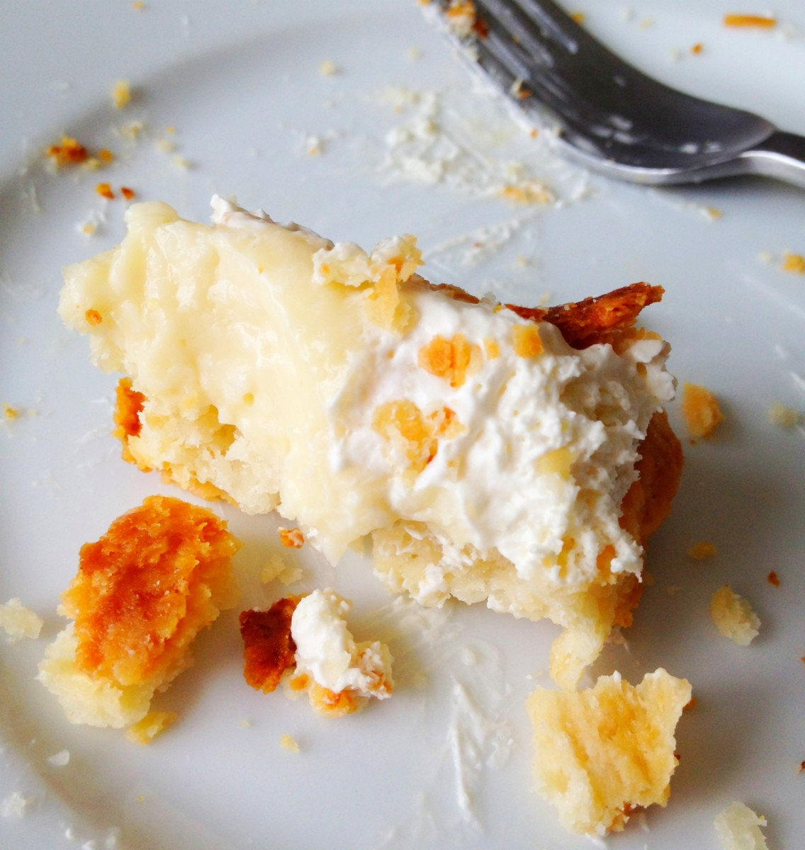 last bite of coconut pie