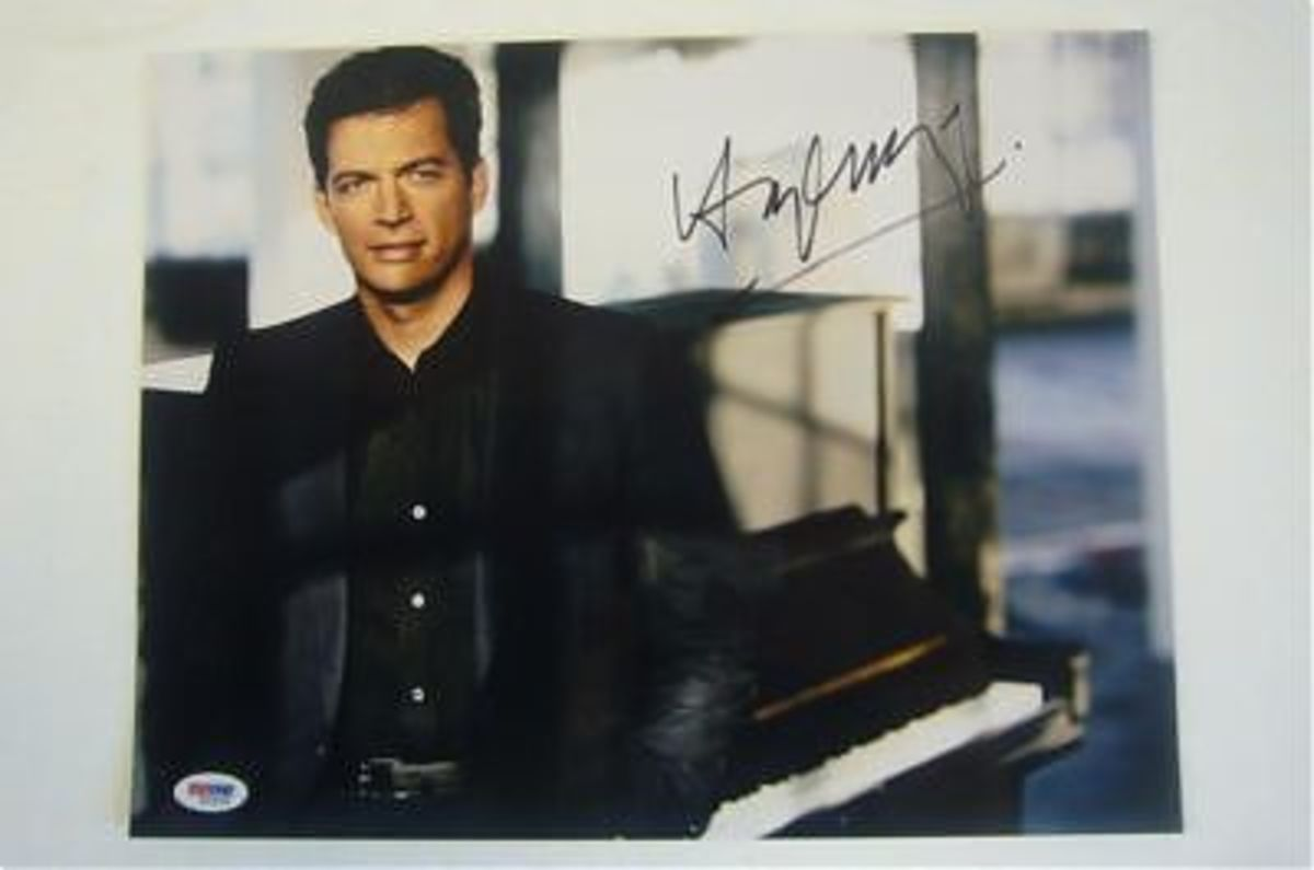 Autographed Picture of Harry Connick Jr.