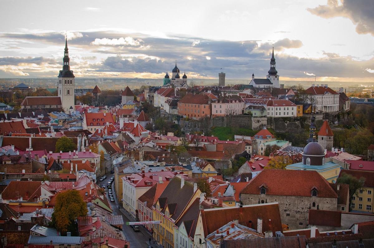 St. Olaf's Church tower in Tallinn, Estonia (Flickr: Ilya)