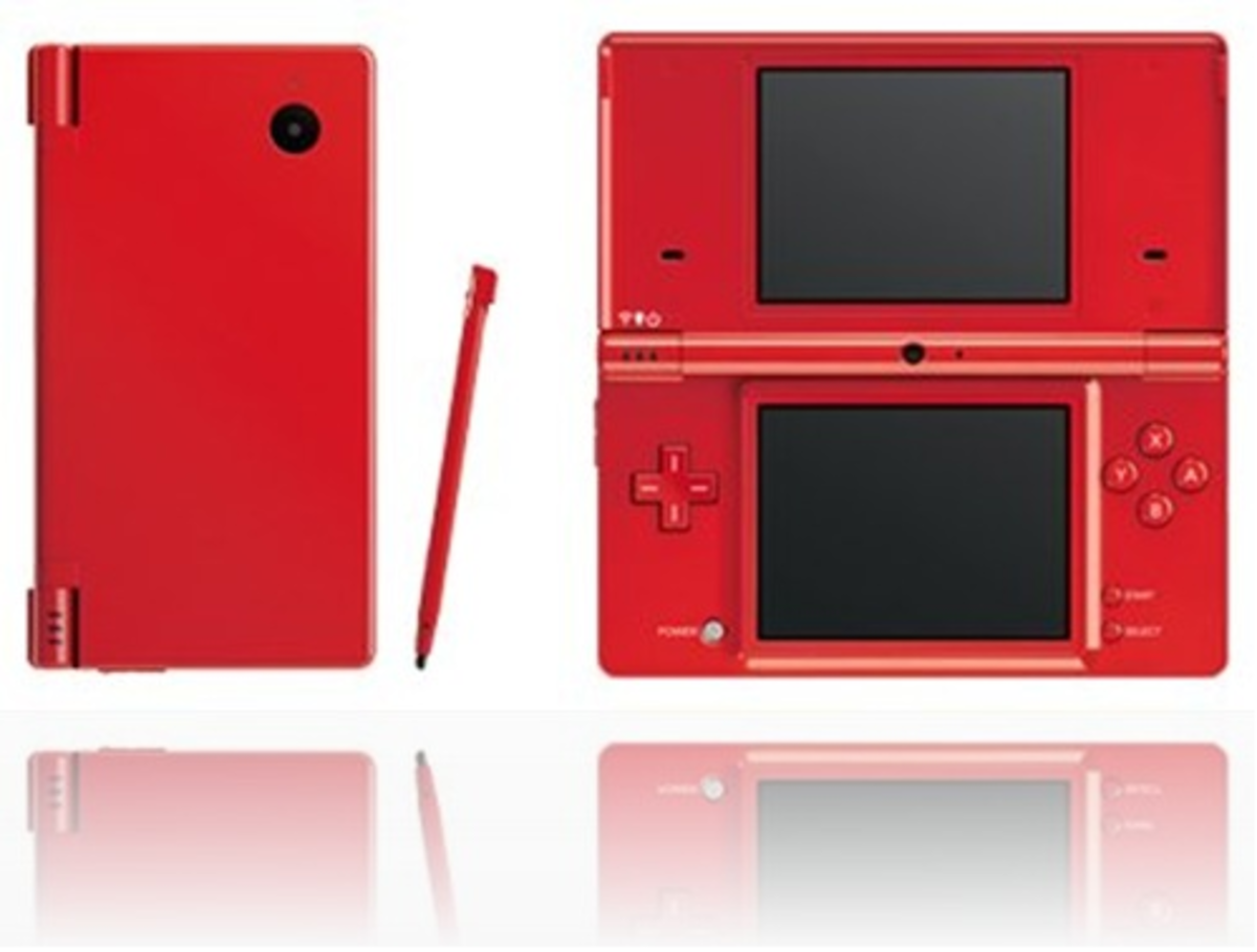 red nintendo dsi for christmas