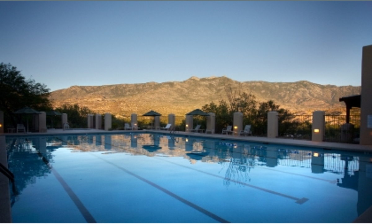 Miraval luxury spa resort swimming pool