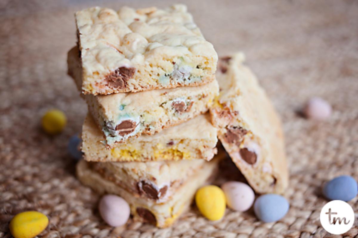 cake mix cadbury mini egg cookies