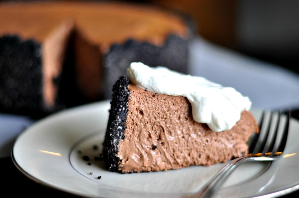 Almond Chocolate Mousse Cake - TodaysMama.com