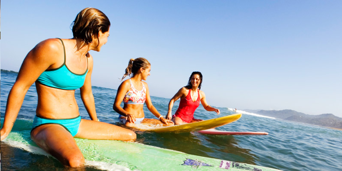 surf camp for women in mexico