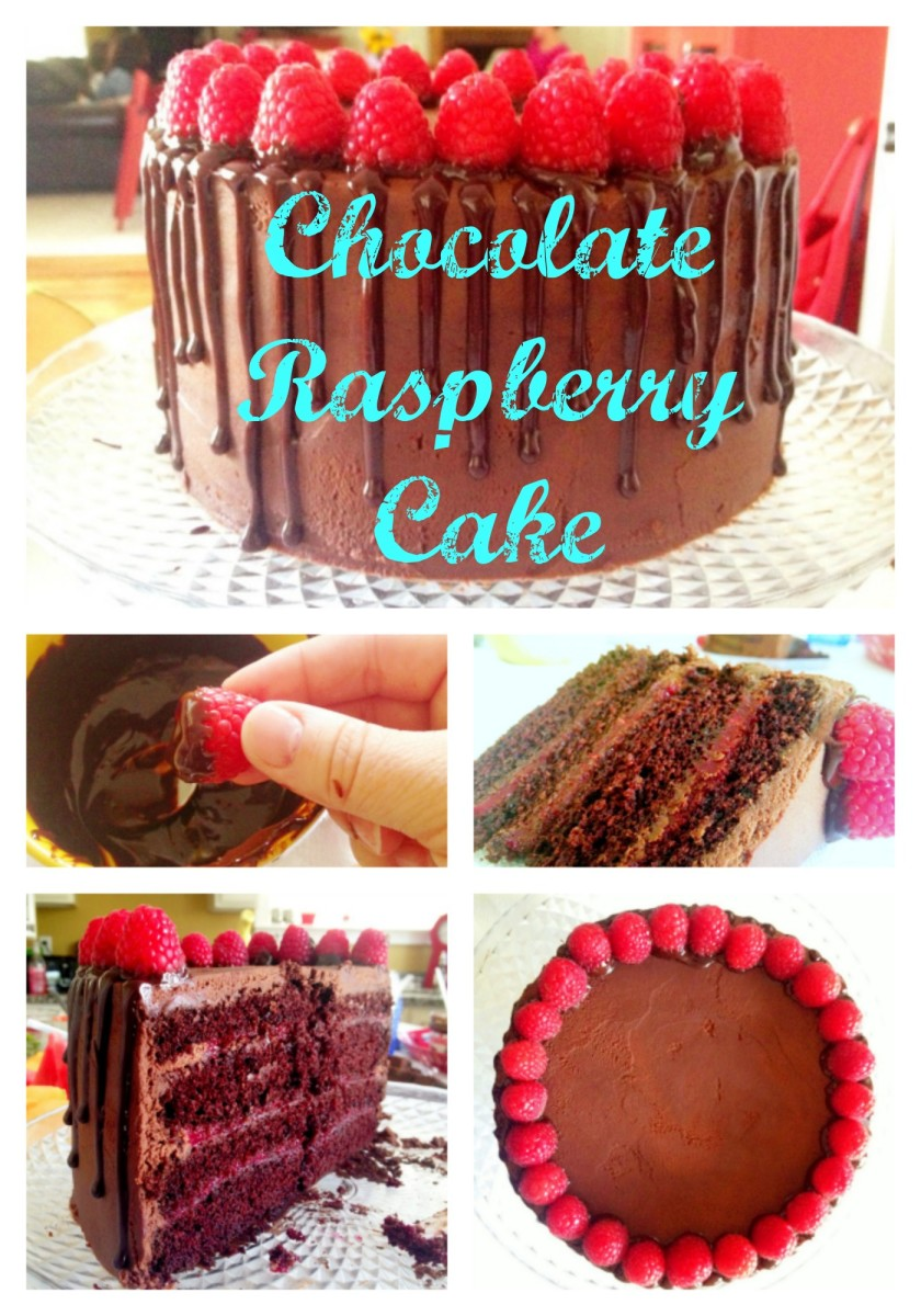 Best Chocolate Raspberry Cake Recipe at TodaysMama.com