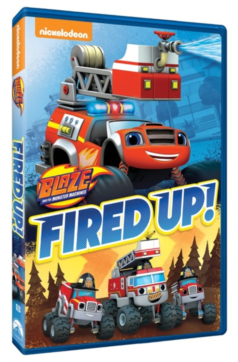 Blaze: Fired Up DVD Giveaway