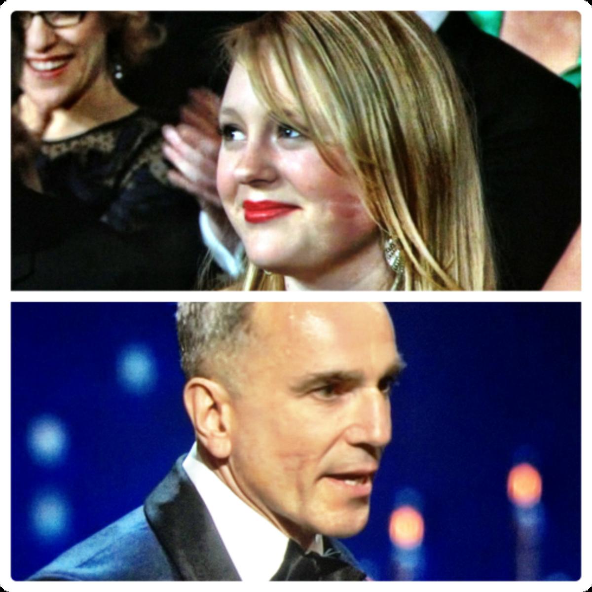 Daniel Day Lewis Lipstick Face Oscars