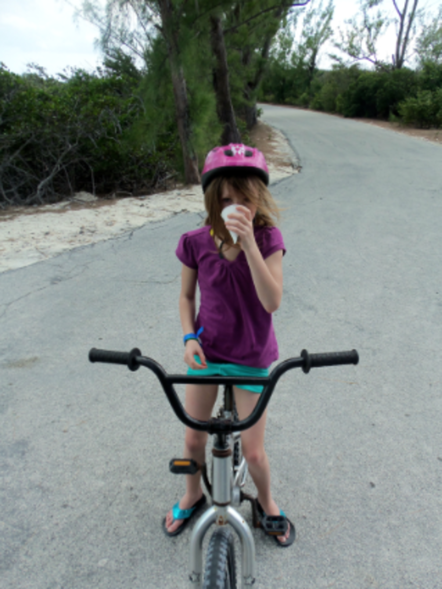 rent a bike on disney's private island