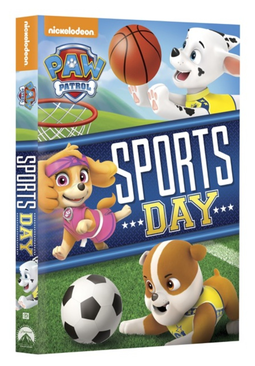 Paw Patrol Sports Day DVD Giveaway