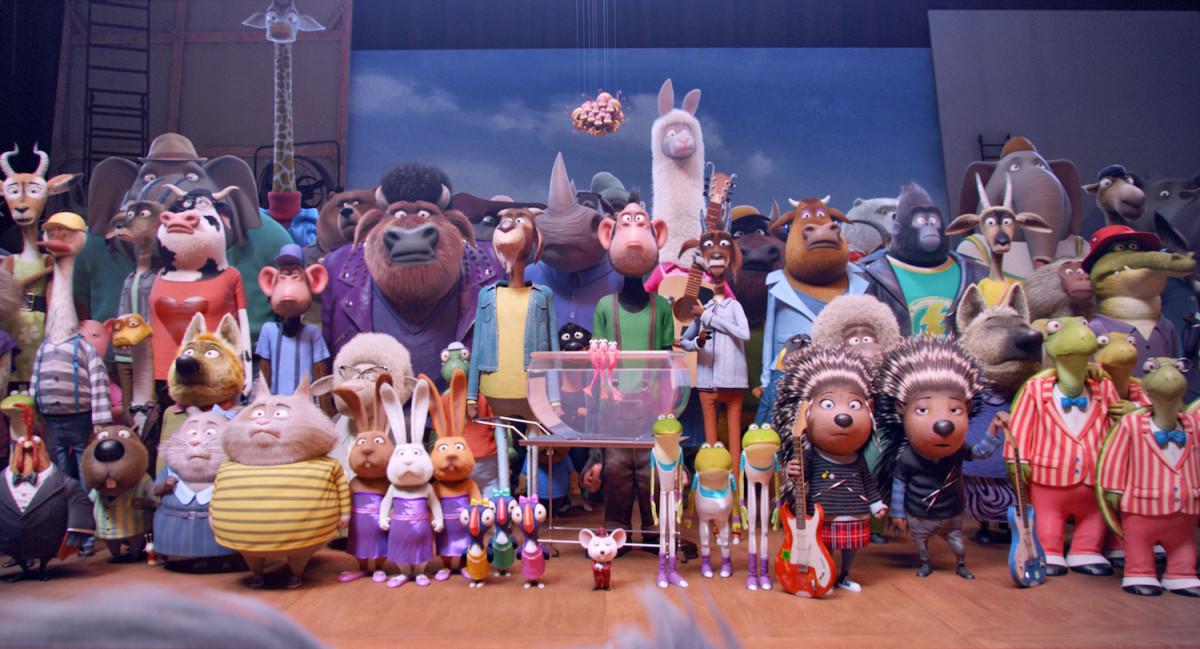 SING in Digital HD cast