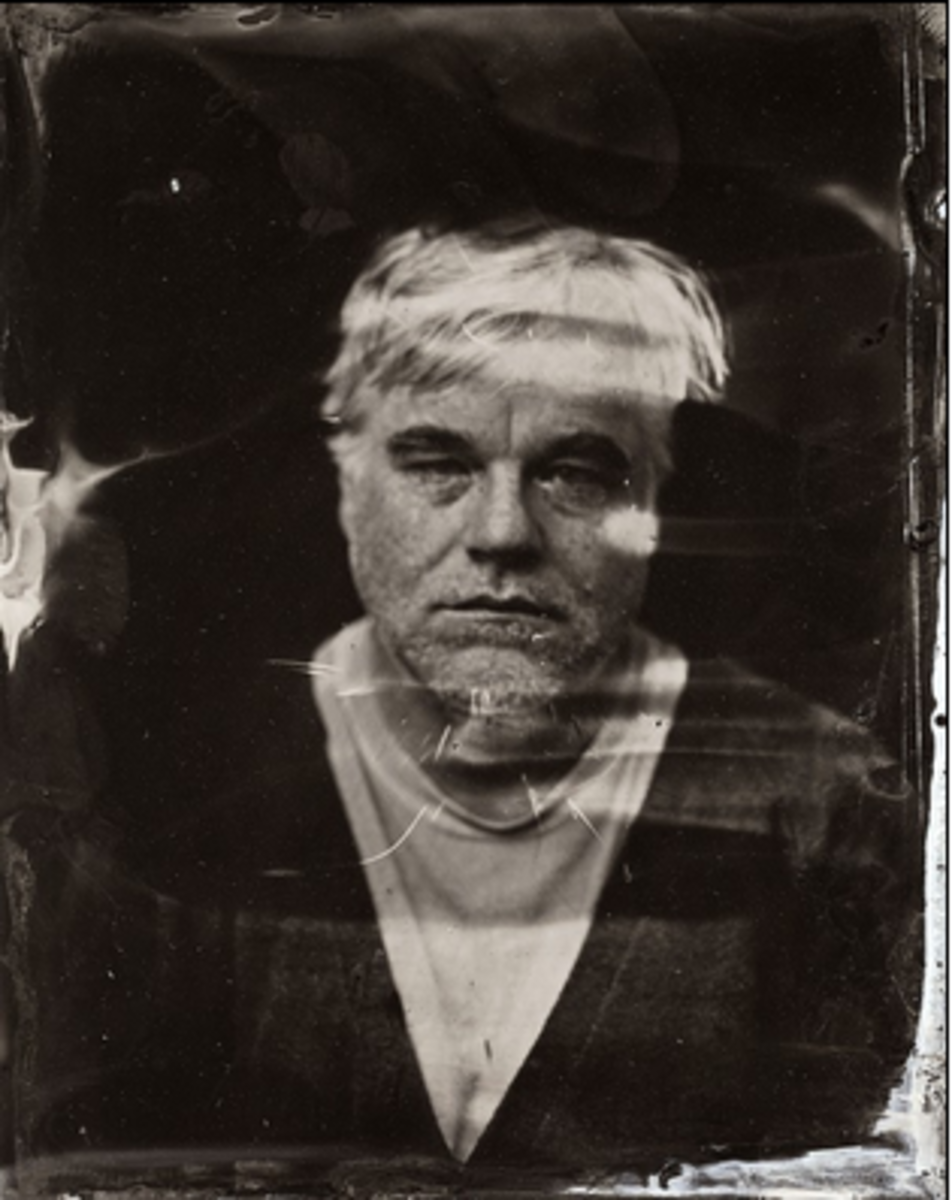 Phillip Seymour Hoffman's last photo, Sundance Film Festival 2014 (Victoria Will | Invision via The AP)