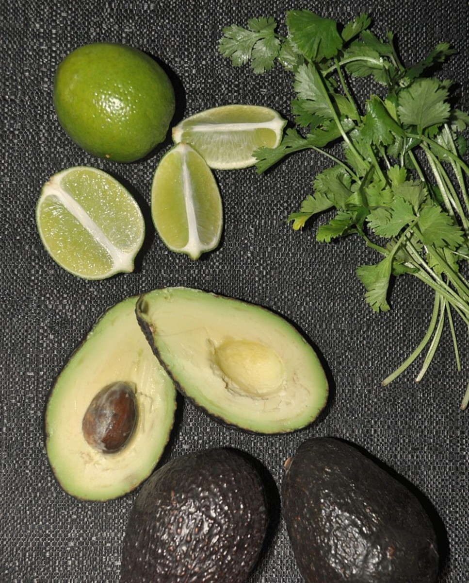 Basic Guacamole Ingredients