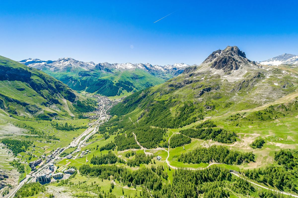 Val d'Isere is a favorite local getaway destination in France. (Courtesy Valdisere.com)