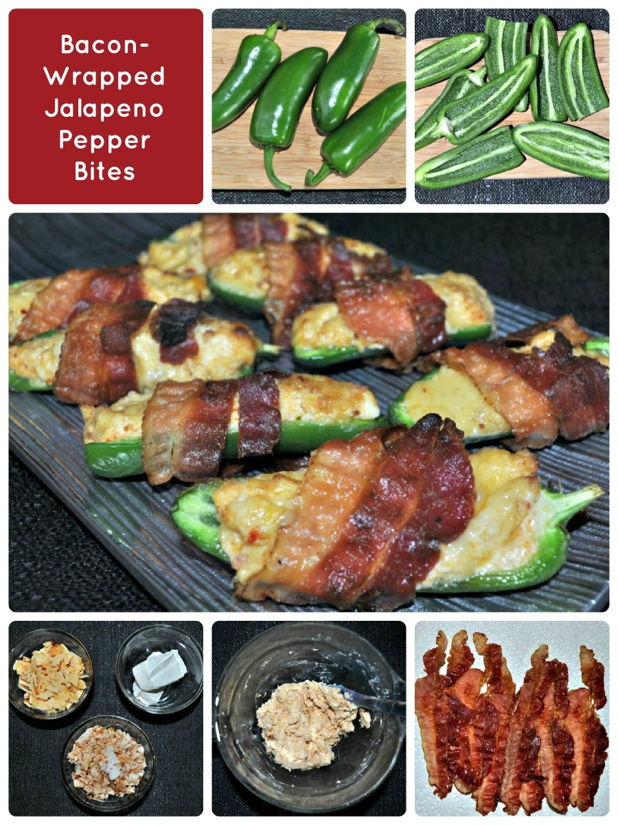 Bacon Wrapped Jalapeno Pepper Bites Step By Step