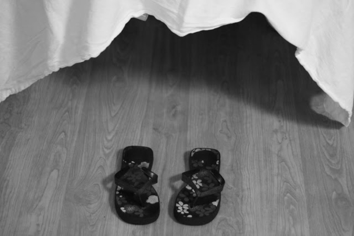 Twin Birth Story - flip flops