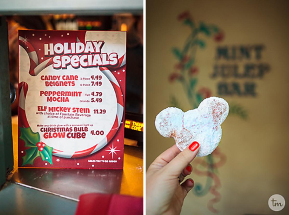 Disneyland Christmas Treats