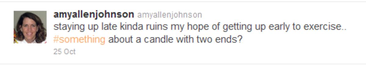 Amys Tweet