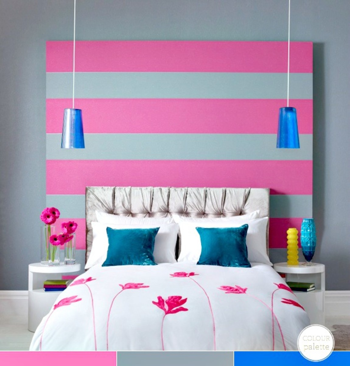 15 Fun Girl Room Ideas www.TodaysMama.com