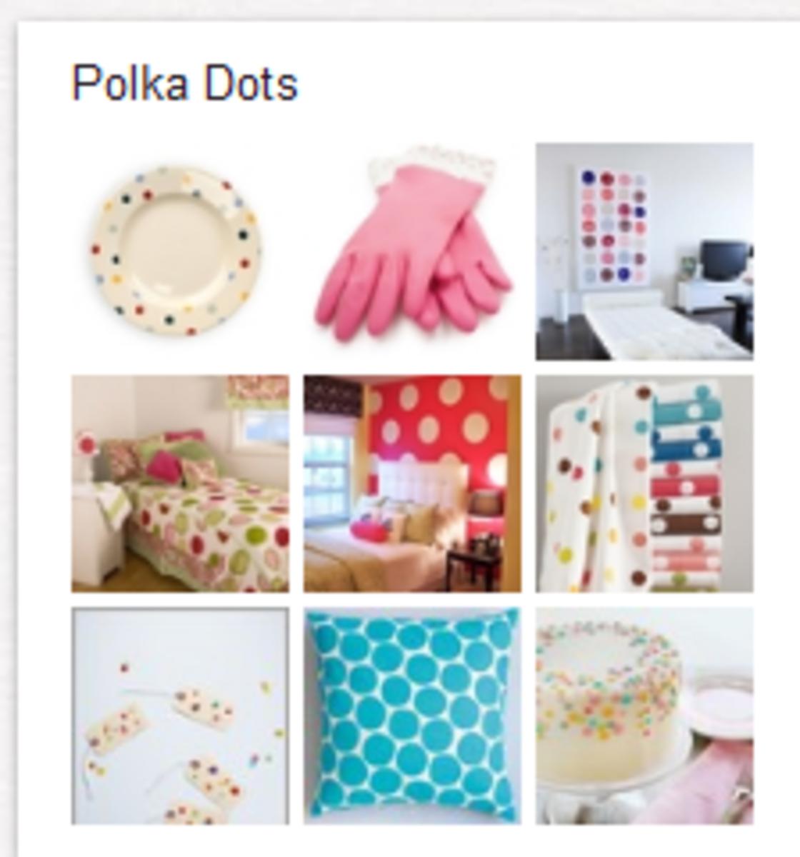 Polka Dots Board