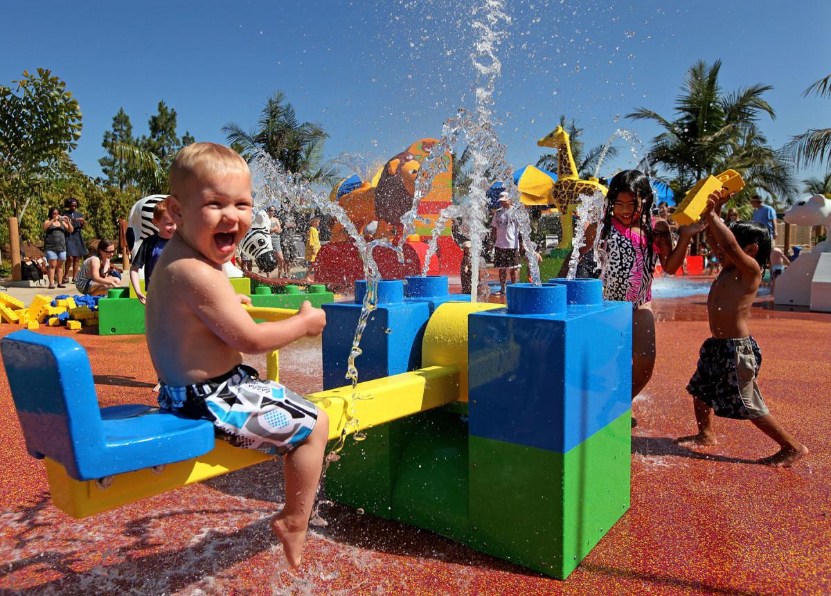 Splash zone at Legoland (Courtesy Legoland)