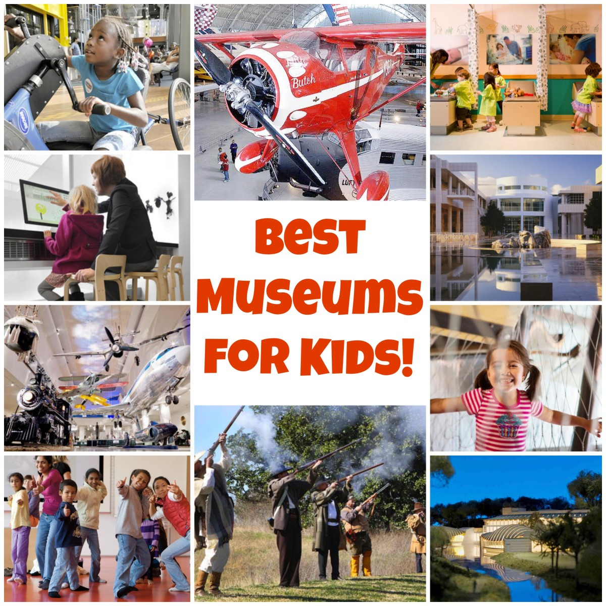 Plan a trip your family won't forget to one of the best museums for kids in the U.S.!