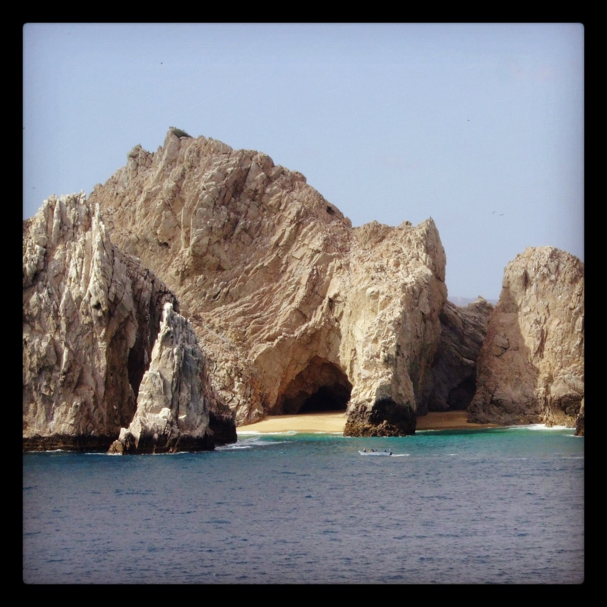 The blue waters of Cabo San Lucas.