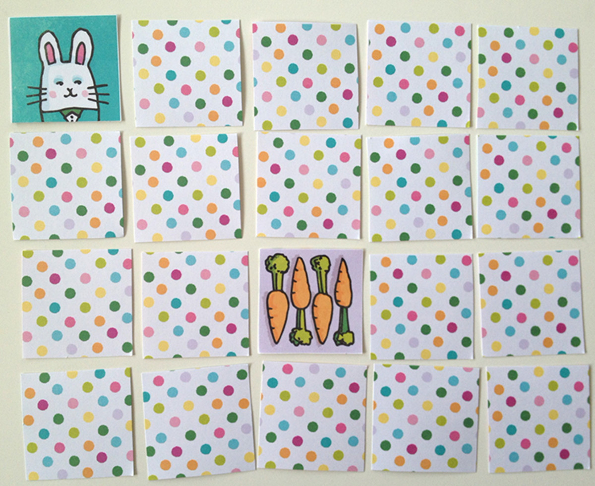 Printable Easter Card Game