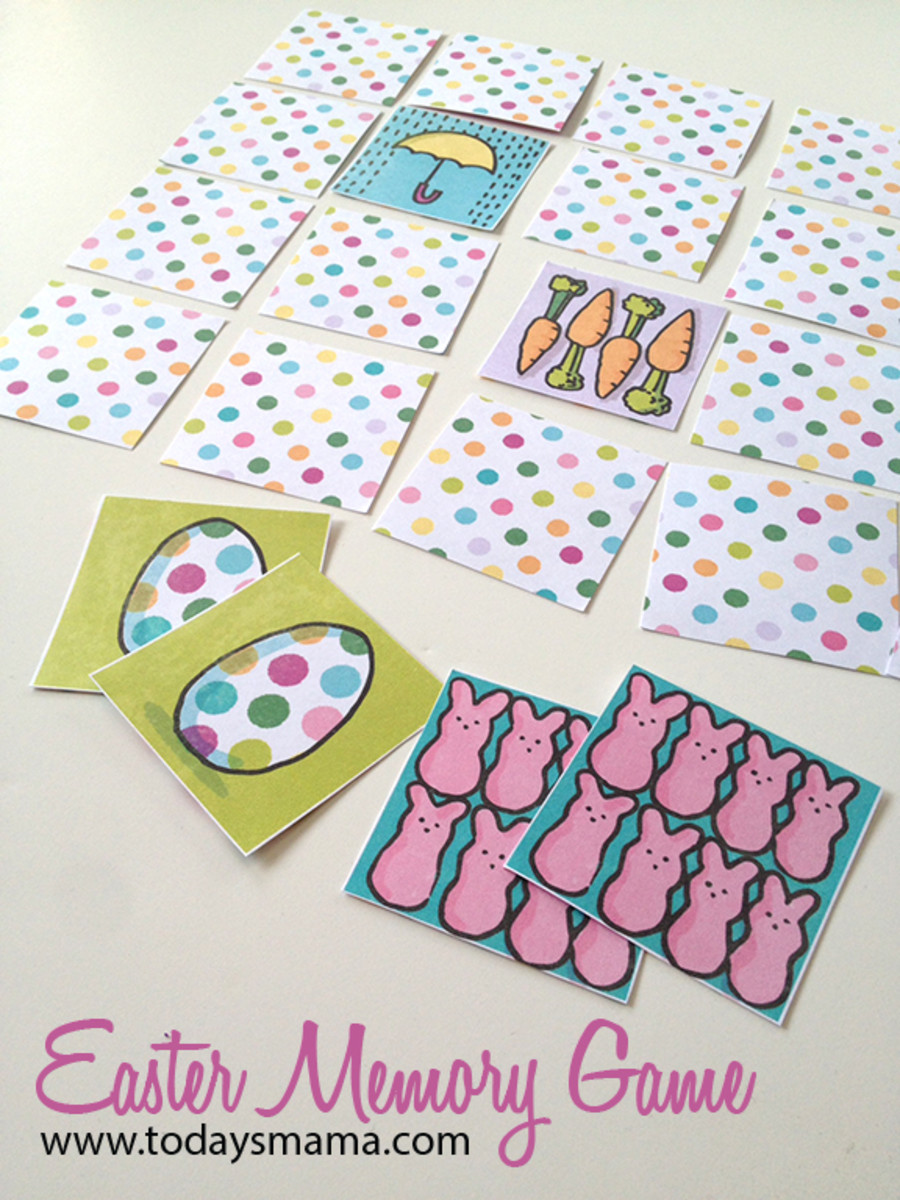 Printable Easter Games
