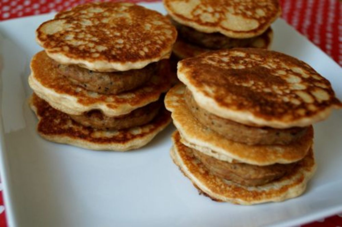 Pancake Sausage Stacks