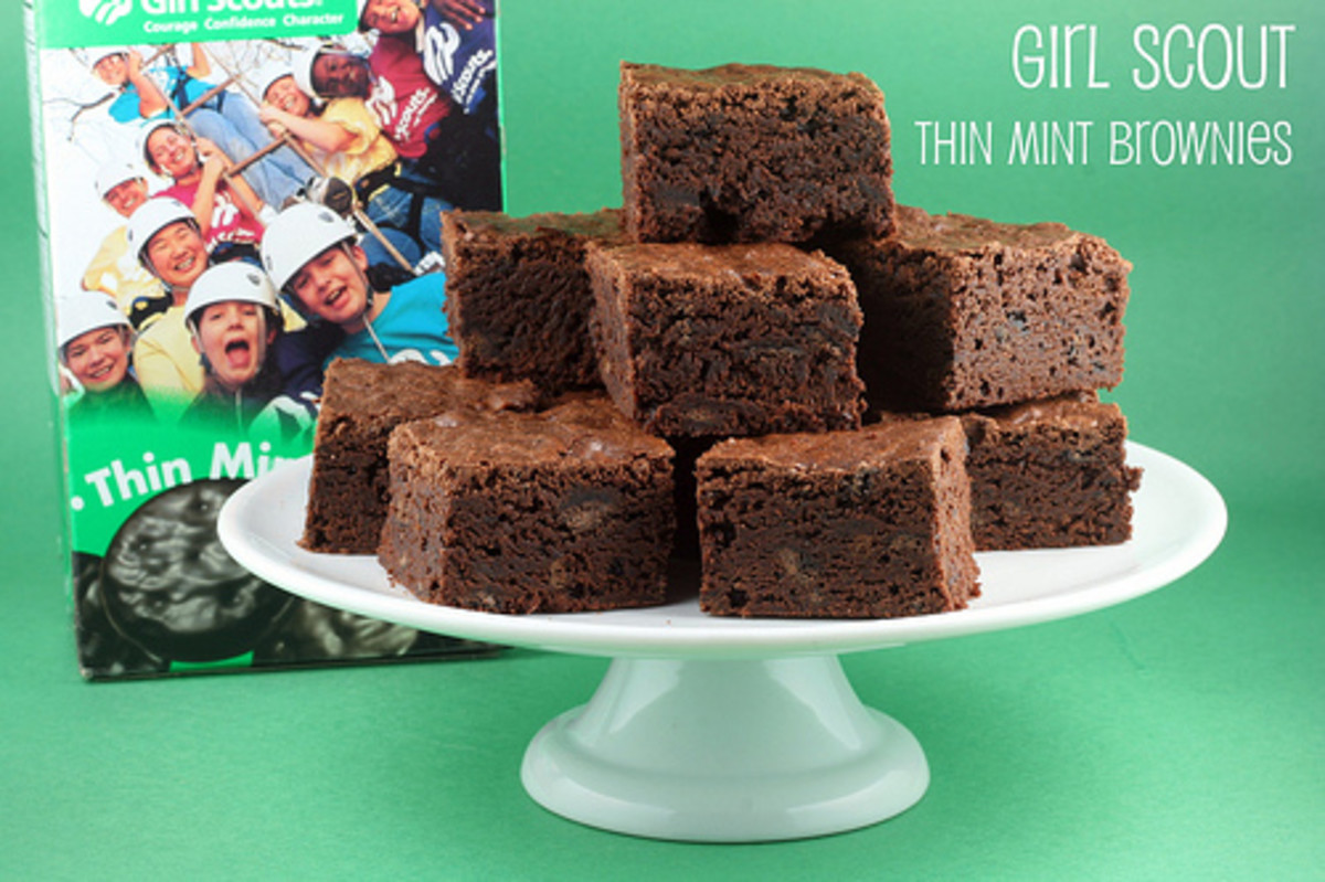 Thin Mint Brownies The Food Librarian