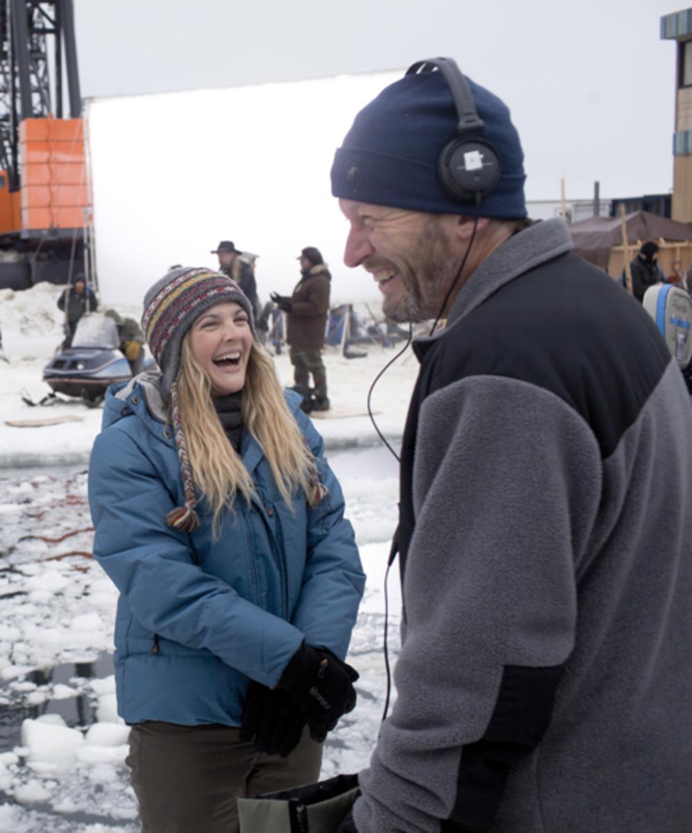 Director Ken Kwapis and Drew Barrymore