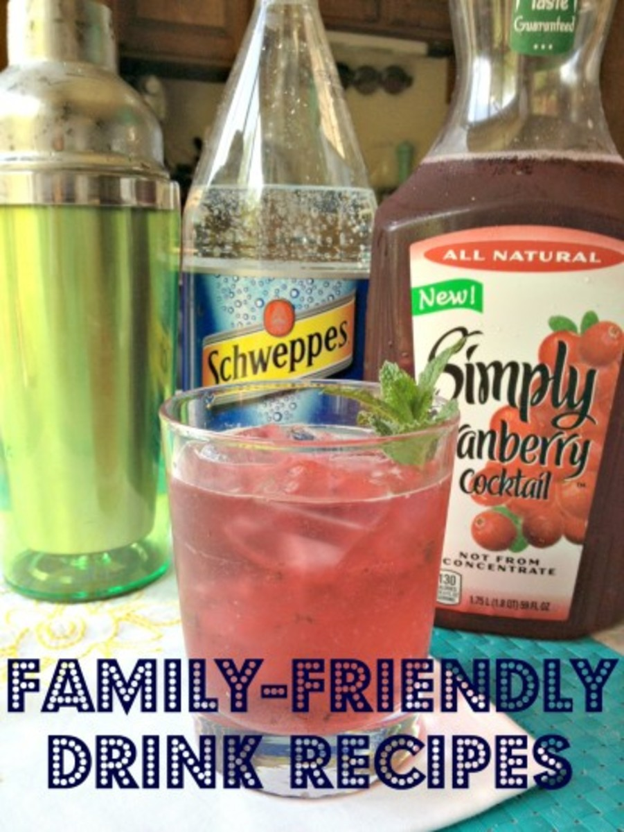 family friendly drinks