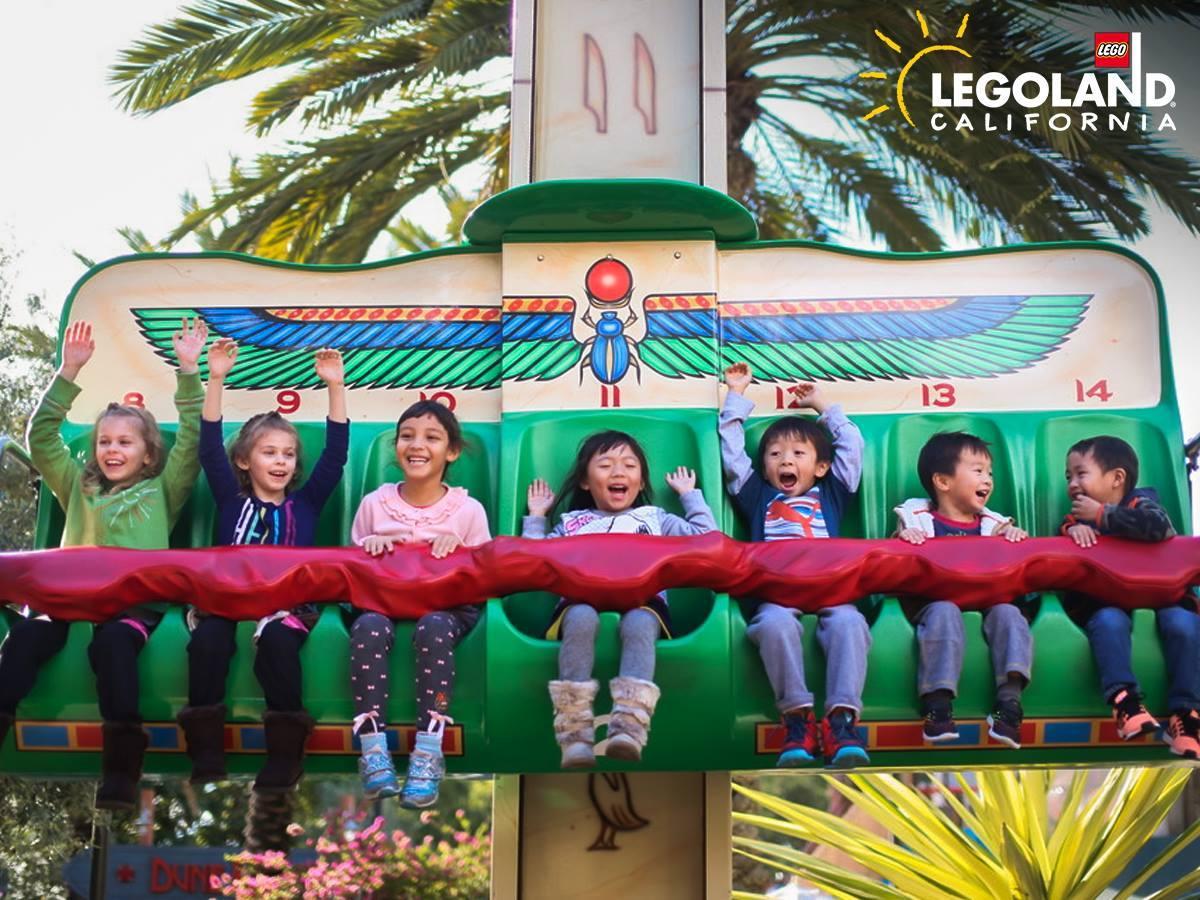 Fun ride at LEGOLAND California (Courtesy LEGOLAND)