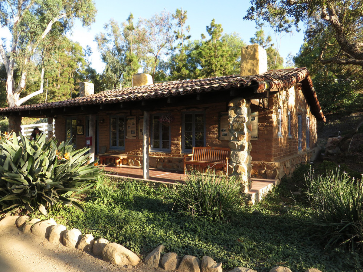 Historic building at Leo Carrillo Ranch (Flickr: Ken Lund)