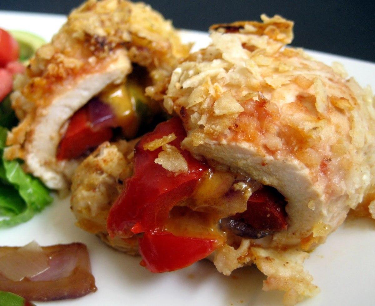 Fajita Stuffed Chicken   Rachel Cooks