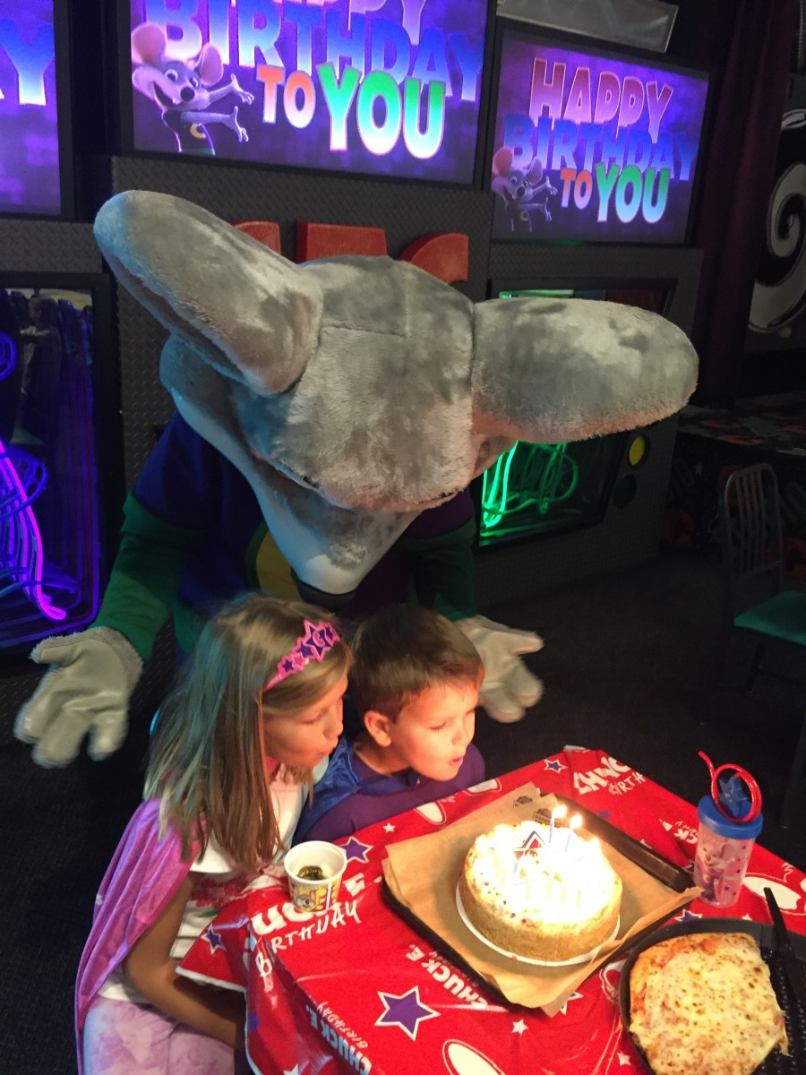 Epic Chuck E. Cheese Birthday
