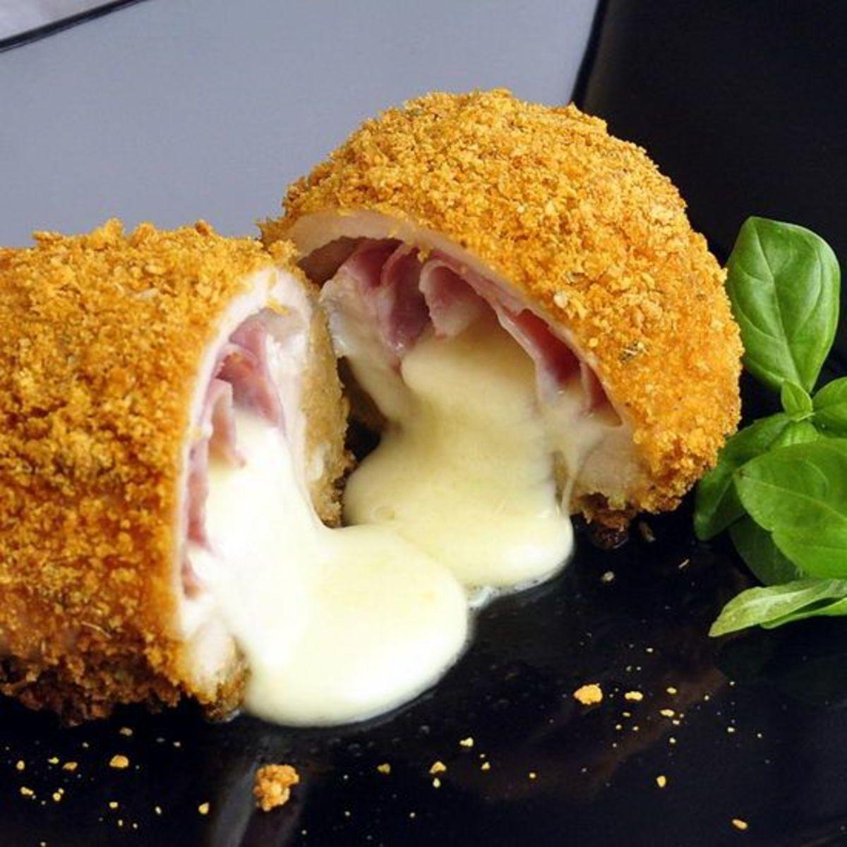 Baked Chicken Cordon Bleu | Rock Recipes