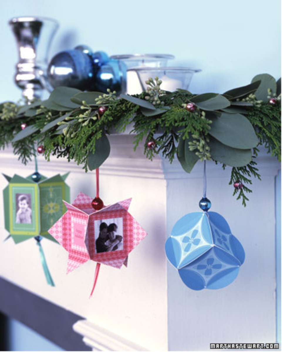 easy printable paper ornaments