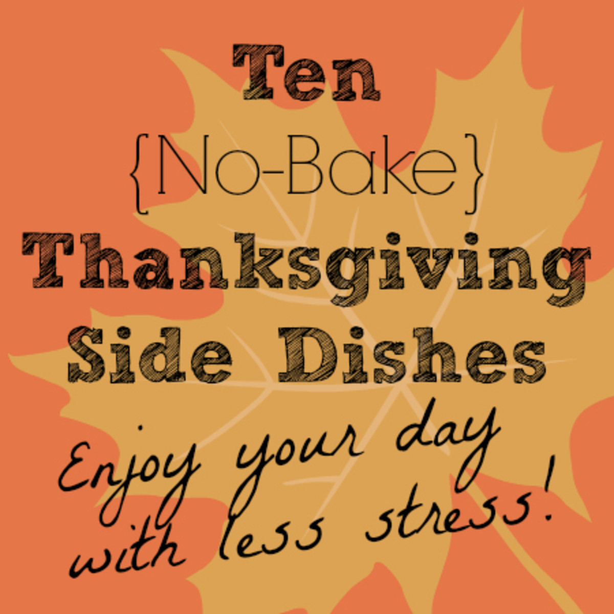 10 No Bake Thanksgiving Side Dishes - TodaysMama.com