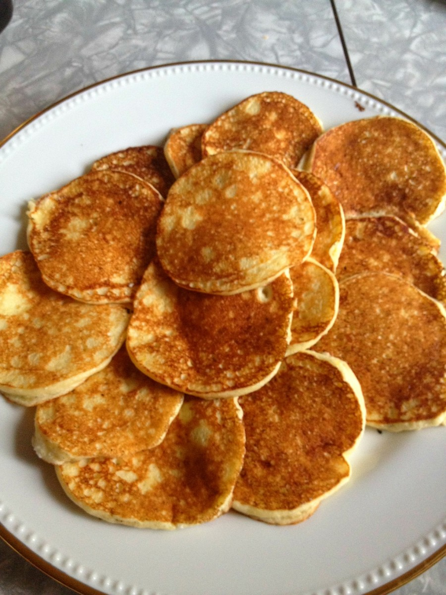 lots lemon ricotta pancakes