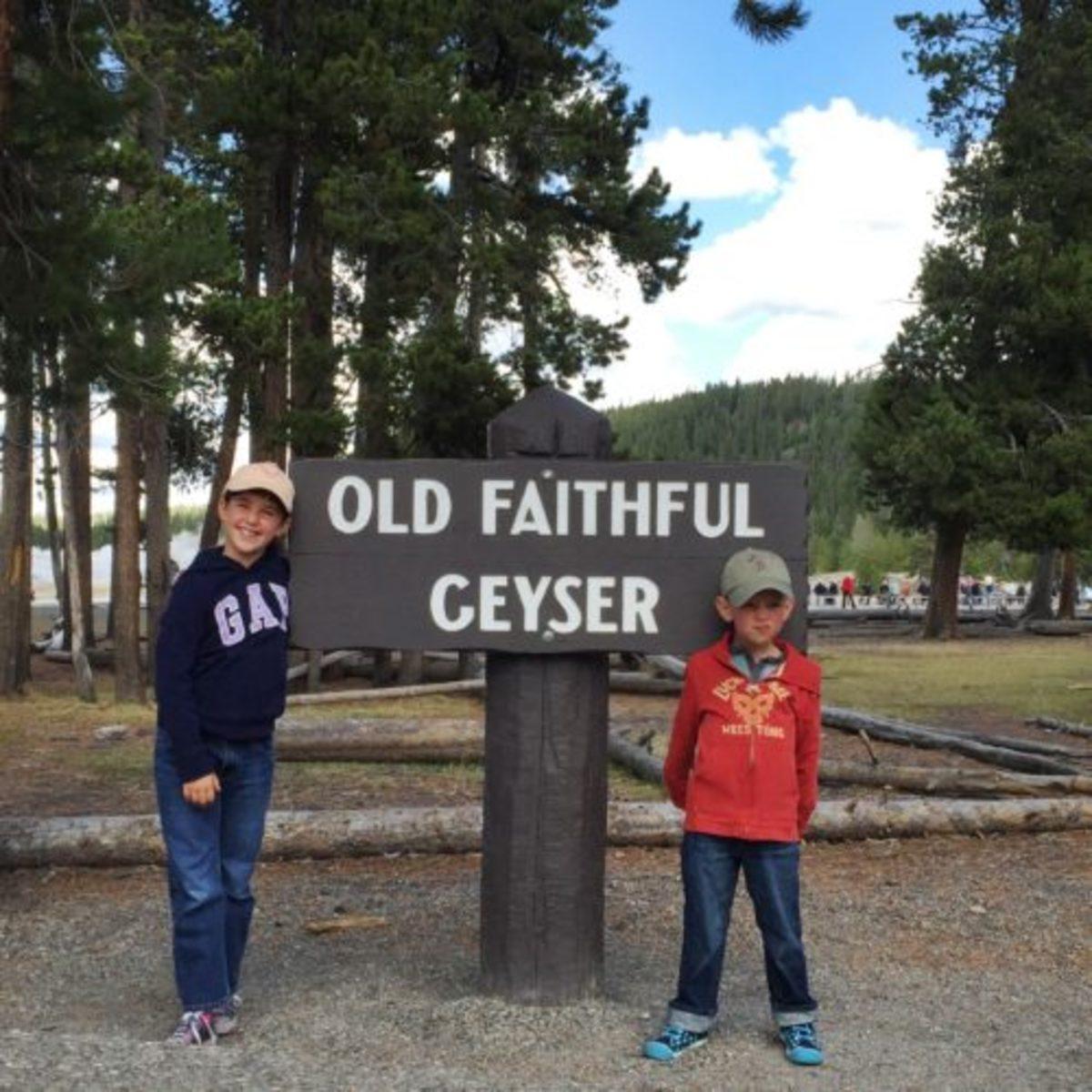 At Yellowstone National Park