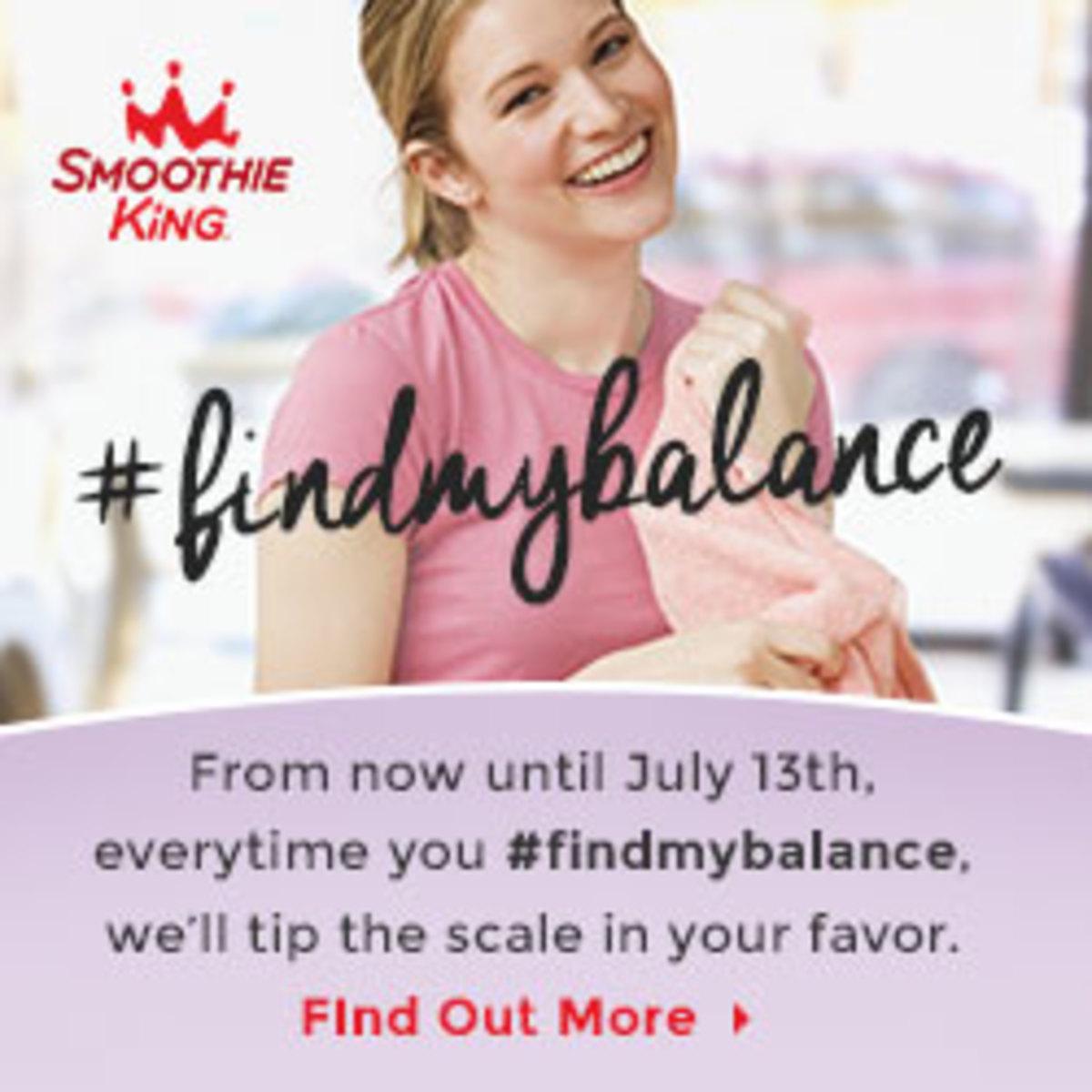 Smoothie King #findmybalance