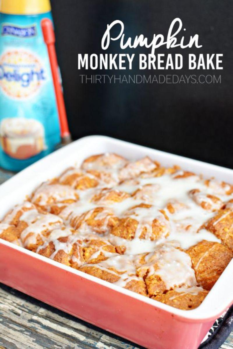 Our Favorite Fall Food Recipes Pumpkin Monkey Bread 30 Days Blog